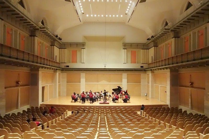 音楽ホール。