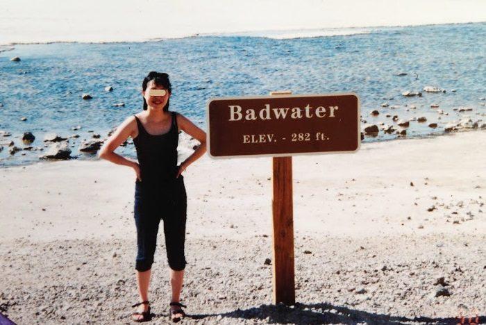 1998年の「バッドウォーター」。