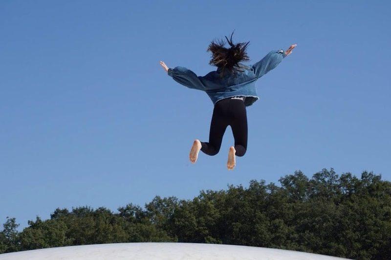 ジャンプ。