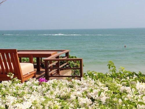 タイの海。