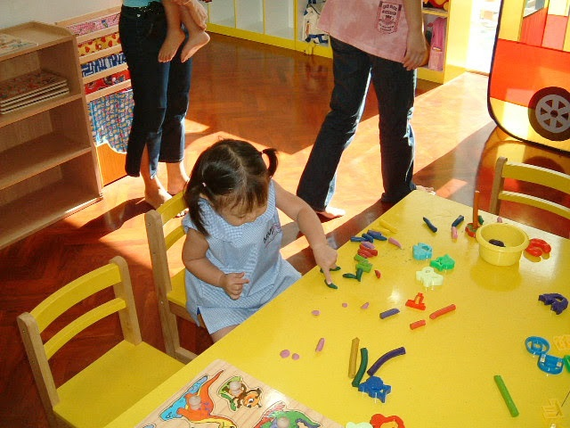 モンテッソーリ幼稚園。