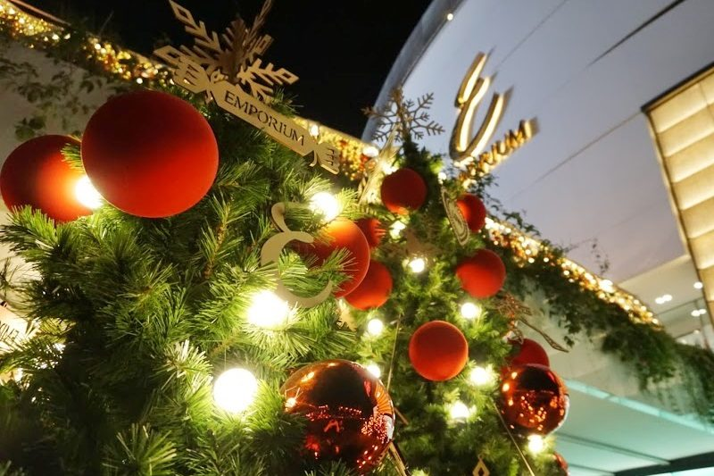 エンポリアムのクリスマス。