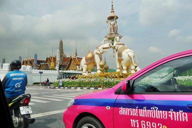 バンコクのタクシー。