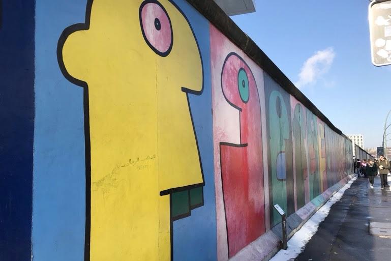 ベルリンの壁。