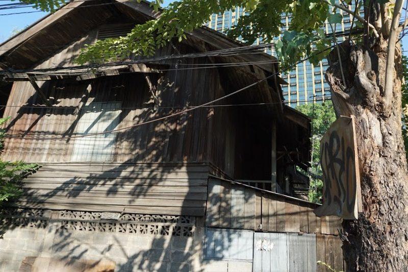 タイの昔の家。