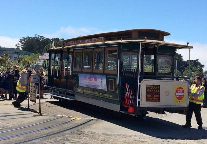 サンフランシスコの路面電車