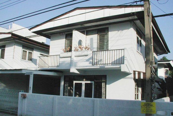 バンコクの一軒家。