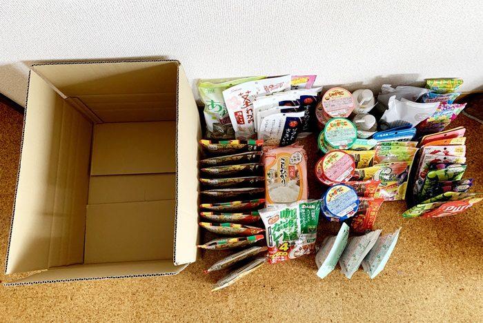日本➜NZへ海外発送。フリーズドライ食品多し。