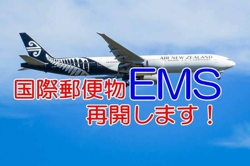 国際郵便EMS。